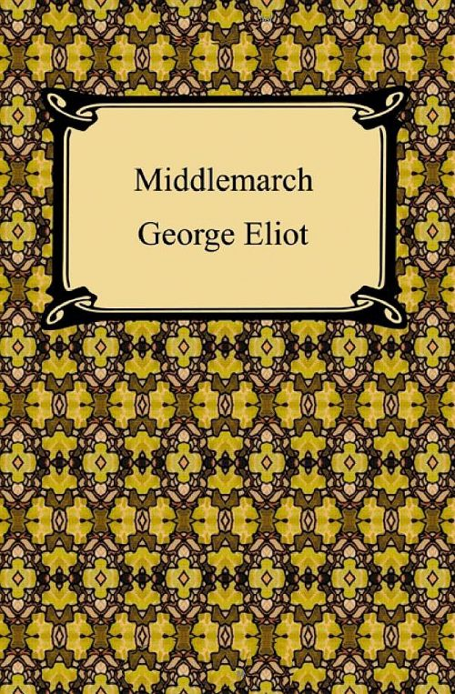 a description of the complex web of characters and bonds in middlemarch
