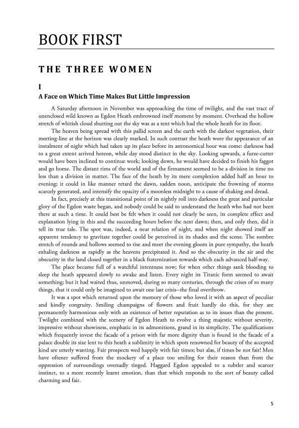 Return of the Native - Thomas Hardy  (книга)
