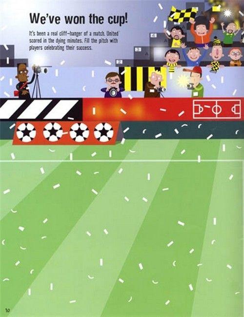 Football Sticker Book - Paul Nicholls (книга)