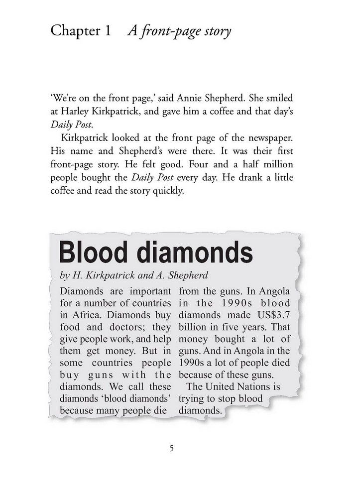 CER 1 Blood Diamonds Pack with CD - Richard Macandrew (книга + диск)