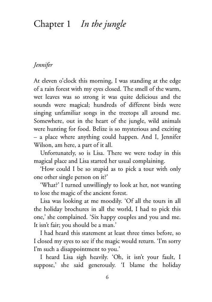 CER 5 Jungle Love - Margaret Johnson (книга)