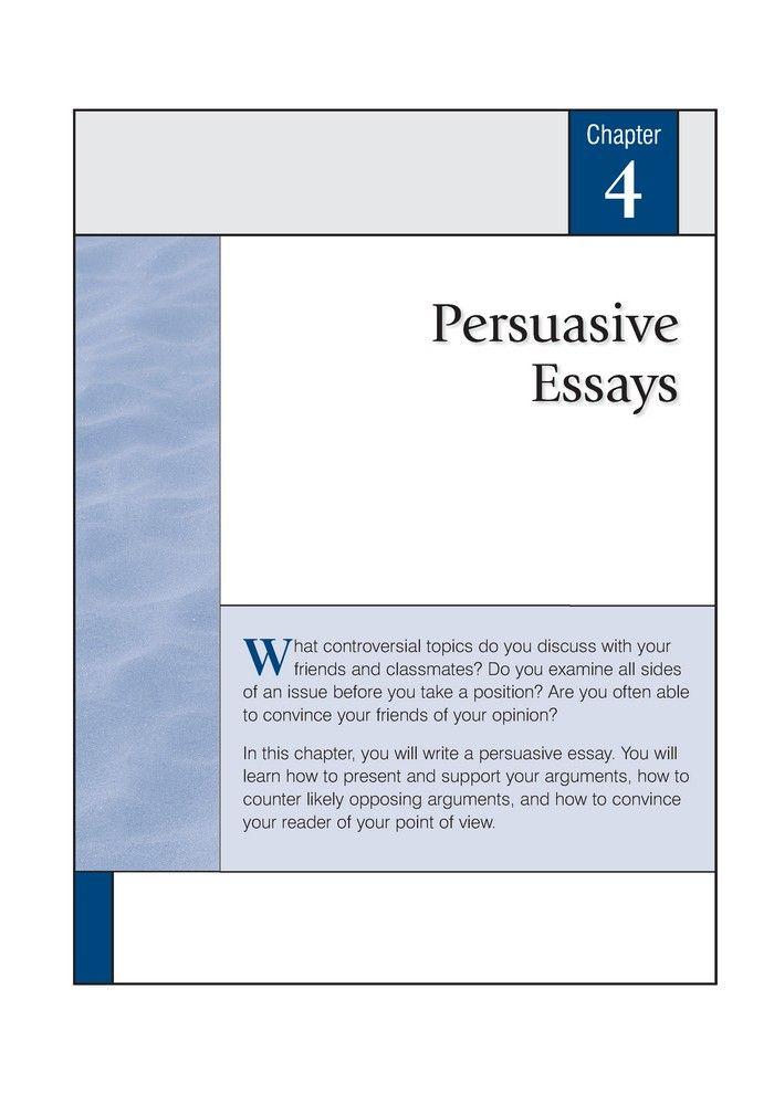 controversial issues persuasive essay