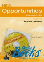 Michael Harris, Дэвид Мовер, Анна Сикоржинска - New Opportunities Beginner Language Powerbook Pack with CD-ROM ( ()