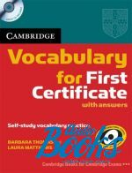 Barbara Thomas, Laura Matthews - Cambridge Vocabulary for First Certificate with Audio CD ()