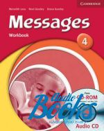 Meredith Levy, Miles Craven, Noel Goodey - Messages 4 Workbook with CD (тетрадь / зошит) ()