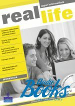 Peter Moor, Sarah Cunningham - Real Life Upper-Intermediate: Workbook with Multi-ROM Pack (тетр ()