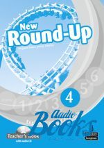 Jenny Dooley, Virginia Evans - Round-Up 4 New Edition: Teacher's Book with Audio CD (книга для  ()