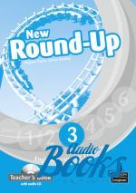 Jenny Dooley, Virginia Evans - Round-Up 3 New Edition: Teacher's Book with Audio CD (книга для  ()