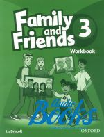 Naomi Simmons, Jenny Quintana, Tamzin Thompson - Family and Friends 3 Workbook (тетрадь / зошит) ()