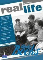 Peter Moor, Sarah Cunningham - Real Life Intermediate: Workbook with Multi-ROM Pack (тетрадь /  ()