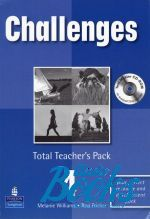 Melanie Williams - Challenges 4 Total Teacher's Pack 4 with Test Master CD-ROM 3 Pa ()