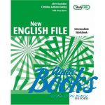 Clive Oxenden - New English File Intermediate: Workbook and MultiROM ()