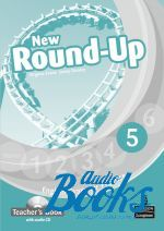 Jenny Dooley, Virginia Evans - Round-Up 5 New Edition: Teacher's Book with Audio CD (книга для  ()