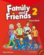 Naomi Simmons, Tamzin Thompson, Jenny Quintana - Family and Friends 2 Classbook and MultiROM Pack (учебник / підр ()