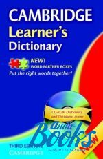 Cambridge ESOL - Cambridge Learners Dictionary Third ed. Book with CD-ROM ()