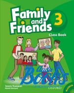 Naomi Simmons, Tamzin Thompson, Jenny Quintana - Family and Friends 3 Classbook and MultiROM Pack (учебник / підр ()