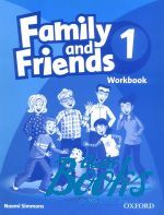 Jenny Quintana, Tamzin Thompson, Naomi Simmons - Family and Friends 1 Workbook (тетрадь / зошит) ()