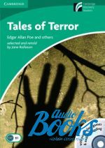 Poe Edgar Allan - CDR 3 Tales Terror Book with CD-ROM and Audio CD Pack ()
