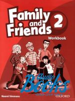 Jenny Quintana, Tamzin Thompson, Naomi Simmons - Family and Friends 2 Workbook (тетрадь / зошит) ()