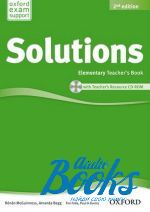 Tim Falla - New Solutions Elementary Second edition: Teacher's Book with CD-ROM (книга учителя) (книга + диск)