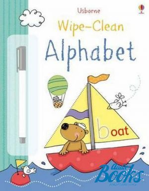 "The book ""Wipe-Clean: Alphabet"" - Фелисити Брукс"