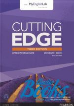 Jonathan Bygrave - Cutting Edge Upper-Intermediate Third Edition: Student's Book with DVD and MyEnglishLab (учебник / підручник) (книга + диск)