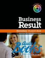 "книга + диск ""Business Result Elementary: Student's Book with DVD-ROM (учебник / підручник)"" - Kate Baade"