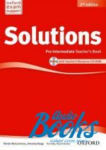 Tim Falla - New Solutions Pre-Intermediate Second Edition: Teacher's Book with CD-ROM (книга учителя) (книга + диск)