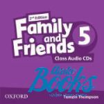 Jenny Quintana - Family and Friends 5, Second Edition: Class Audio CDs(3) (диск)