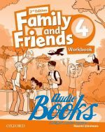 Naomi Simmons - Family and Friends 4, Second Edition: Workbook (International Edition) (тетрадь / зошит) (книга)