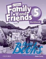 Naomi Simmons - Family and Friends 5, Second Edition: Workbook (International Edition) (тетрадь / зошит) (книга)