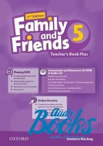 Naomi Simmons - Family and Friends 5, Second Edition: Teacher's Book Plus Pack (книга для учителя) (книга)