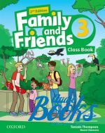 Jenny Quintana - Family and Friends 3, Second Edition: Class Book with MultiROM (учебник / підручник) (книга + диск)