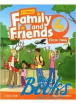 Jenny Quintana - Family and Friends 4, Second Edition: Class Book with MultiROM (учебник / підручник) (книга + диск)
