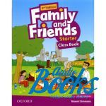 Jenny Quintana - Family and Friends Starter, Second Edition: Class Book with MultiROM (учебник / підручник) (книга + диск)