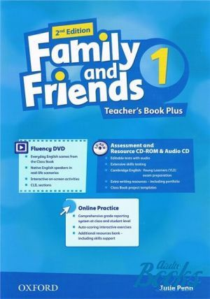 "книга ""Family and Friends 1, Second Edition: Teacher´s Book Plus Pack (книга для учителя)"" - Naomi Simmons, Tamzin Thompson, Jenny Quintana"
