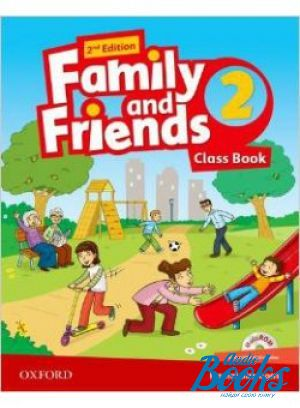 "Book + cd ""Family and Friends 2, Second Edition: Class Book with MultiROM (учебник / підручник)"" - Jenny Quintana, Tamzin Thompson, Naomi Simmons"