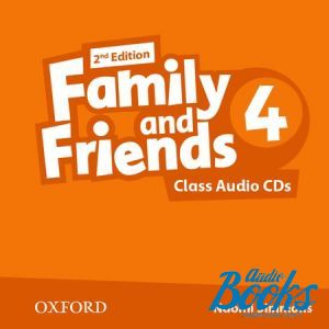 "диск ""Family and Friends 4, Second Edition: Class Audio CDs(3)"" - Jenny Quintana, Tamzin Thompson, Naomi Simmons"