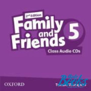 "диск ""Family and Friends 5, Second Edition: Class Audio CDs(3)"" - Jenny Quintana, Tamzin Thompson, Naomi Simmons"