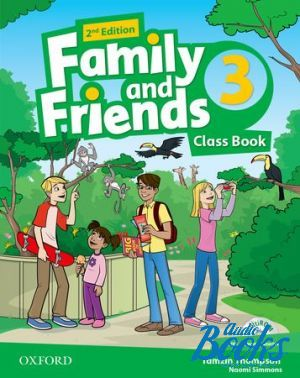 "книга + диск ""Family and Friends 3, Second Edition: Class Book with MultiROM (учебник / підручник)"" - Jenny Quintana, Tamzin Thompson, Naomi Simmons"