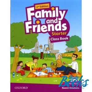 "книга + диск ""Family and Friends Starter, Second Edition: Class Book with MultiROM (учебник / підручник)"" - Jenny Quintana, Tamzin Thompson, Naomi Simmons"