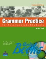 "книга + диск ""Grammar Practice Intermediate Book with CD-ROM and key"""