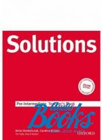 "книга ""Solutions Pre-Intermediate: Teachers Book"" - Anita Omelanczuk"