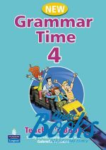 Sandy Jervis - Grammar Time 4 Teacher's Book New Edition (книга)