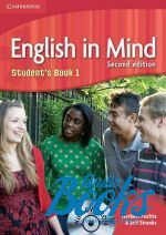 Peter Lewis-Jones - English in Mind 1 Second Edition: Student's Book with DVD-ROM (учебник / підручник) (книга + диск)