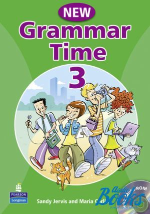 "Book + cd ""Grammar Time 3 Student´s Book with Multi-ROM"" - Sandy Jervis"