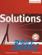 "книга ""Solutions Pre-Intermediate Ukrainian Edition WorkBook (тетрадь / зошит)"" - Tim Falla"