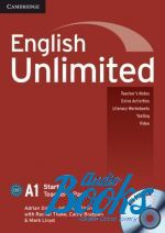 "книга + диск ""English Unlimited Starter Teacher's Book with DVD-ROM (книга для учителя)"" - Theresa Clementson"