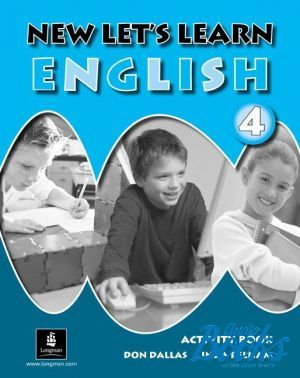 "книга ""New Let´s Learn English 4 Activity Book"" - Don A. Dallas"