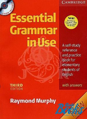 "Book + cd ""Essential Grammar in Use 3 edition Elementary level with answers and CD-ROM"" - Helen Naylor, Raymond Murphy, Software Developers"